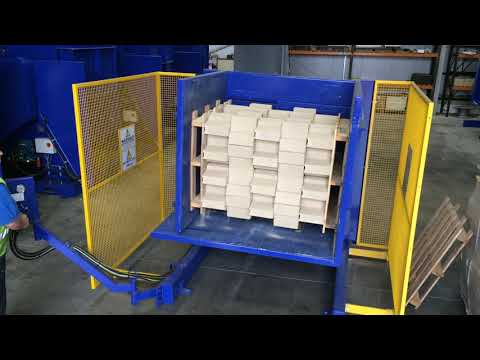 "video SINGLE CLAMP ""FS 1900"" PALLET INVERTER"