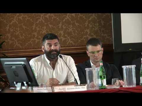 Matteo Copia (polizia locale) al convegno As.Tro di Milano