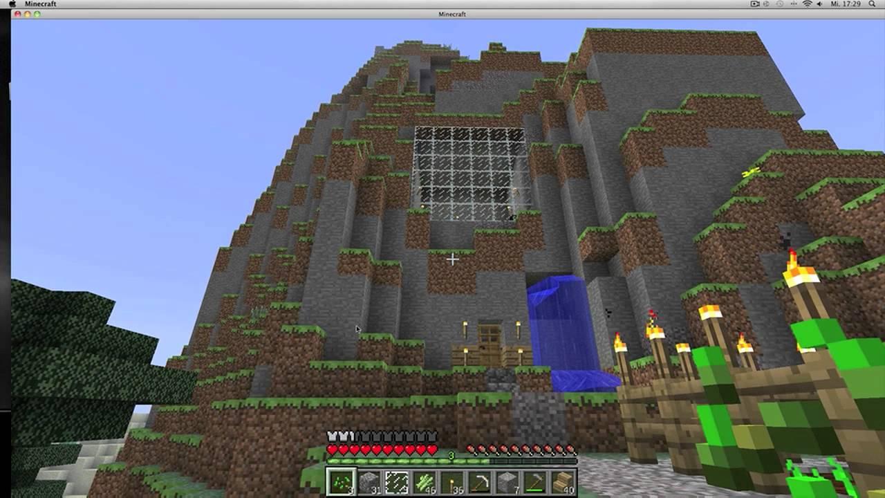 Minecraft Haus Berg