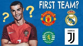 Guess The Player's First Team | Football Quiz