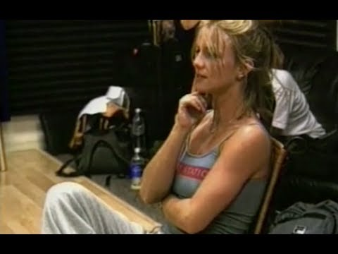 Britney Spears - (I Can't Get No) Satisfaction (Oops!... I Did It Again Tour Rehearsal)