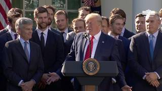 President Trump Welcomes the 2019 Stanley Cup Champions, the St. Louis Blues