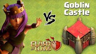 Goblin Castle vs Queen Walk | New Goblin Maps - Clash of Clans - COC