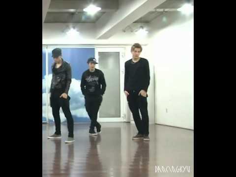 'History' dance practice - Kris focus