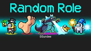 RANDOM ROLES Mod in Among Us