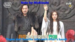 [ENGSUB] Arthdal Chronicles kdrama behind the scenes making of Ep 11/12 Song Joong Ki Kim Ji Won