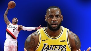 LeBron's Debut Spoiled By Dame's Dominance