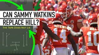 Can Sammy Watkins Replace Tyreek Hill?