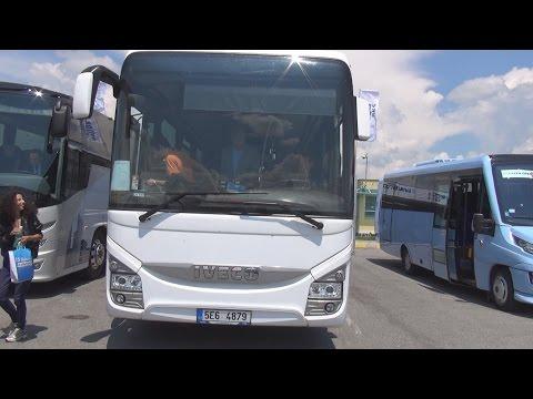 Iveco Crossway Pro Cursor 9 Euro 6 Bus (2016) Exterior and Interior in 3D