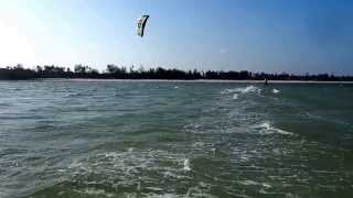 Kitesurfing Zanzibar, jan 2014