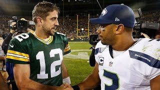 Aaron Rodgers Takes Shot at Russell Wilson by Crediting God for Packers' Win