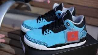 "Air Jordan 3 ""Powder Blue"" Unboxing"