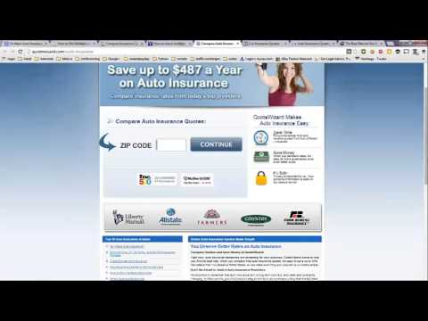 Multiple Auto Insurance Quotes at Once