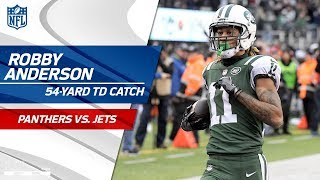 Robby Anderson Goes Deep for His 2nd TD of the Game! | Panthers vs. Jets | NFL Wk 12 Highlights