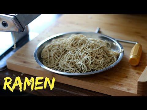 How To Make Fresh Ramen Noodles