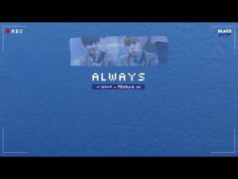 [Karaoke Thaisub] Always (이 자리에) – PRODUCE 101 Season 2 (프로듀스 101 시즌 2)
