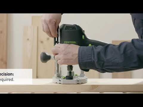 Festool Router OF1400 1/2 240v In Systainer Sys 4 T-Loc 574345