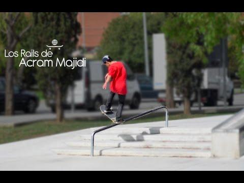 Los rails de Acram Majidi // Skatepark de Martorell
