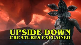 STRANGER THINGS 2   Upside Down Creatures Explained