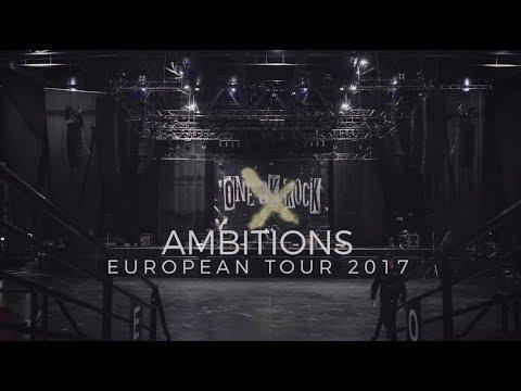 ONE OK ROCK AMBITIONS EUROPEAN TOUR 2017