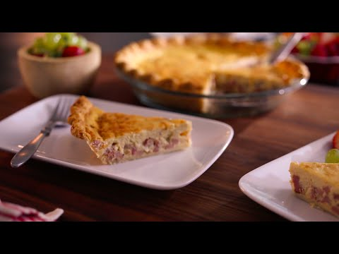 Boar's Head SmokeMaster™ Black Forest Ham & Cheese Quiche