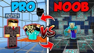 Minecraft NOOB vs. PRO : SWAPPED HACKER BATTLE in Minecraft (Compilation)