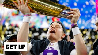 Joe Burrow is the most interesting man in college football – Laura Rutledge | Get Up