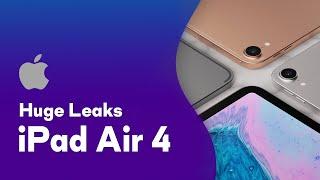 iPad Air 4 Leak! Touch ID Button, All-Screen