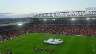 Liverpool vs Hoffenheim champions league anthem