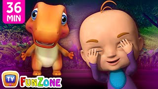 Peek a Boo Song & Many More 3D Nursery Rhymes & Songs for Kids - Dinosaur Rhymes by ChuChu TV