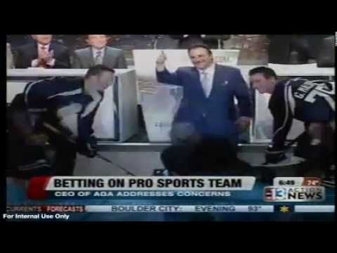"KTNV ABC: ""Betting on Pro Sports Team, CEO of AGA Addresses Concerns"""