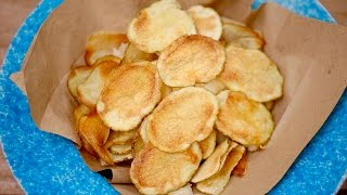 Crispy MICROWAVE POTATO CHIPS (w/Ranch & BBQ Flavors!) Gemma's Bigger Bolder Baking Ep 155