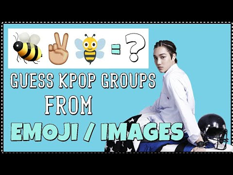 GUESS KPOP GROUPS BY EMOJI OR IMAGE | SUPER EASY |