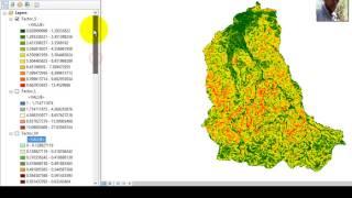 Crear un mapa de erosión del suelo por el método USLE/RUSLE