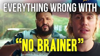 "Everything Wrong With DJ Khaled - ""No Brainer ft. Justin Bieber, Chance The Rapper, Quavo"""