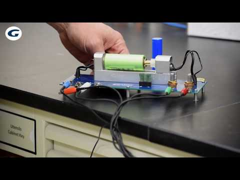Universal Battery Holder from Gamry Instruments
