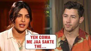 Priyanka Chopra's Husband Nick Jonas Went Into COMA Becaus..