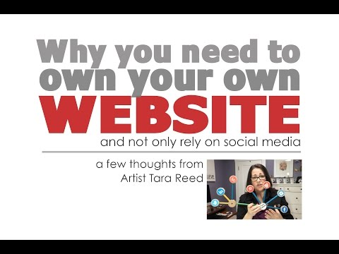 Why you need to own your own website