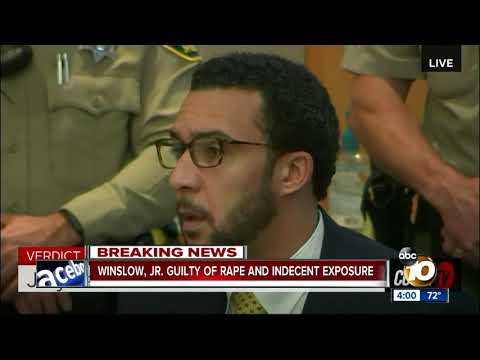 Kellen Winslow Jr. found guilty of rape, indecent exposure