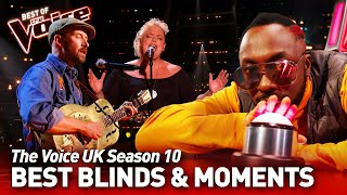 The Voice UK 2021: Best Blind Auditions & Moments of Season 10