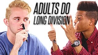 Co-Workers Try To Do Long Division