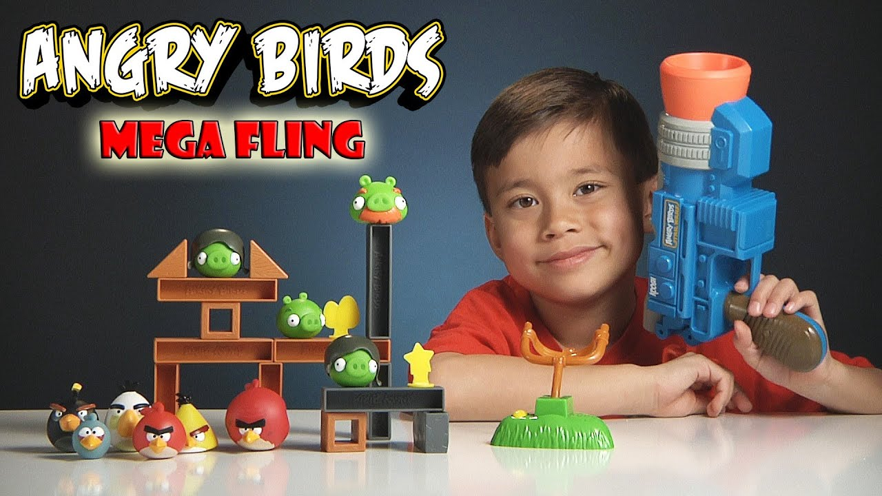 Angry Birds MEGA FLING GAME! Review and Epic Launcher FAIL ...