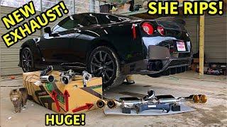 Rebuilding A Wrecked 2013 Nissan GTR Part 9