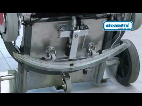 Démonstration du Cleanfix Robot 40 Fr HD
