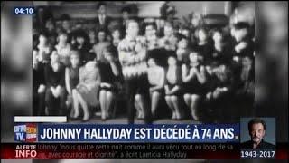 Comment la mort de Johnny Hallyday a été annoncée
