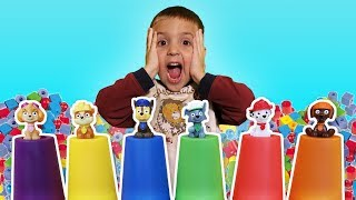 Learning Colors with CamIAm, Pretend Play Paw Patrol and Beads! Educational Videos for Toddlers!