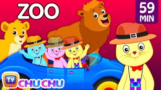 Three Little Kittens Went To The Zoo – Wild Animals Sounds Nursery Rhymes by Cutians™ | ChuChu TV