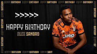 🇧🇷?🎂 ?? Happy Birthday, Alex Sandro! | Juventus