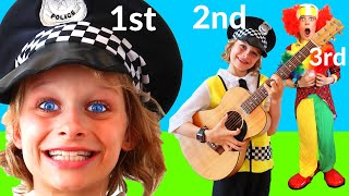 BIGGY THE POLICEMAN's FUN TALENT SHOW Pretend Play w/ The Norris Nuts