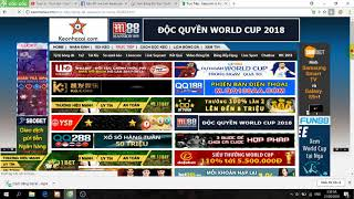 Hướng dẫn cách xem bóng đá trực tuyến tất cả các loại giải